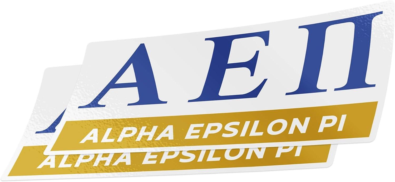 Desert Cactus Alpha Epsilon Pi 2-Pack Color Letter//Name Sticker Decal Greek for Window Laptop Computer Car aepi Color//Letter Name Sticker