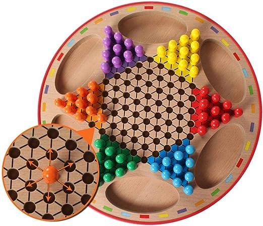 SH-Flying Tablero de ajedrez - Damas de Madera Juego de Tablero de Rompecabezas de ajedrez Volador Educación temprana Juguetes Juego de Mesa Ejercicio para niños Pensar, Jugar: Amazon.es: Hogar