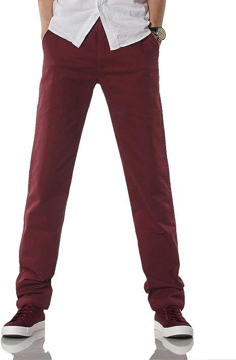 Pantalones De Chándal De Color Rojo Oscuro De Los Hombres De ...