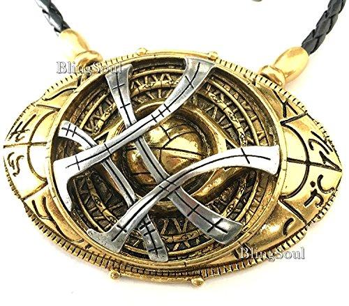 Blingsoul Eye Of Agamotto Necklace Jewelry Gift   Doctor Strange Amulet For Girls  Large
