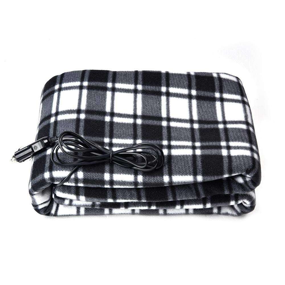 Heated Blanket, Electric Heated Throw Blanket with Auto Shut Off Soft Warm Blankets for Travel Home, 59.06''x 39.37'' by Hiplle
