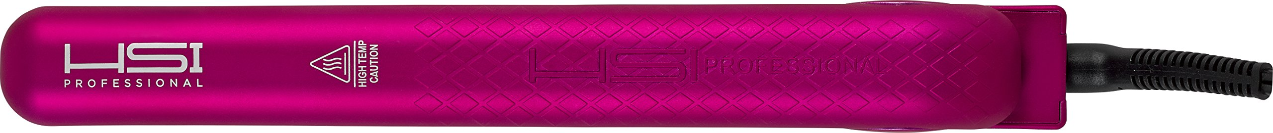 HSI Professional GliderPlus Pink Hair Straightener   Digital Ceramic Ionic Tourmaline Flat Iron   Dual Voltage 110v-220v   Glove, Pouch & Argan Oil