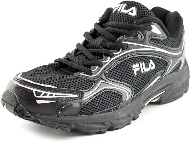 FILA Black Heyzel Wide Running Shoes