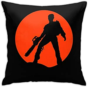 Ash Vs The Evil Dead Throw Pillow Covers Decorative Pillow Cases Creative Home Decor Pillow Cases 18x18 Inches Pillowcases