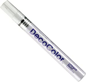 UCHIDA OF AMERICA CORP 300S-0 Decocolor Broad Opaque Oil-Based Paint Marker Open Stock, White