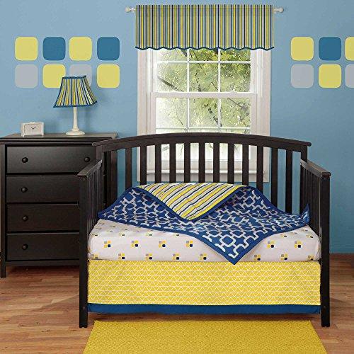 Linden 3 Piece Baby Crib Bedding Set by (Linden 12 Piece)