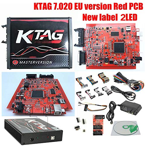 Code Readers & Scan Tools, ECU Programming Tool KTAG Firmware V7.020 Software V2.23 ECU Programming Tool Master Version With Unlimited Token,Support BDM Function Well(as shown) ()