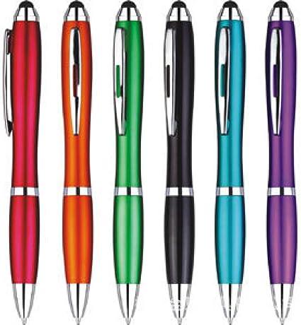 Estuche colorido de 10 piezas: el bolígrafo se puede presionar y llenar para reemplazar el bolígrafo 20-23cm: Amazon.es: Oficina y papelería