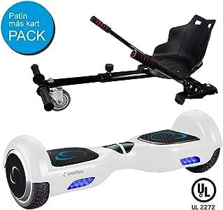 Pack SmartGyro X2 UL v.3.0 White más Go Kart - Patinete Eléctrico ...
