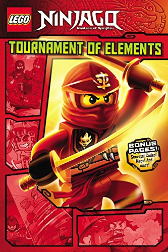 LEGO Ninjago: Tournament of Elements (Graphic Novel #1) (Lego Ninjago Masters of Spinjitzu)