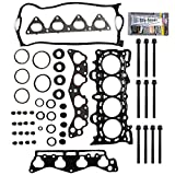 SCITOO Replacement for Head Gasket Bolts Kits Honda Civic Del Sol CX DX LX EX HX 1.6L SOHC 1996-2000 Engine Head Gaskets Set Kit