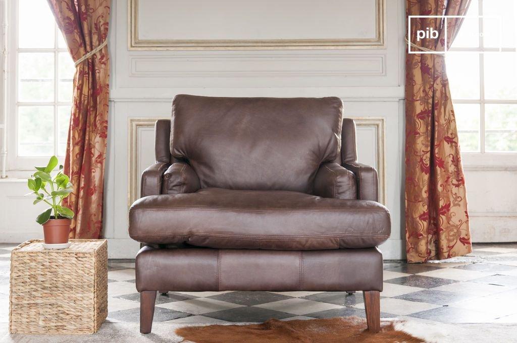 pib - Sillones - Sillón de Cuero Sanary, Diseño Atemporal ...
