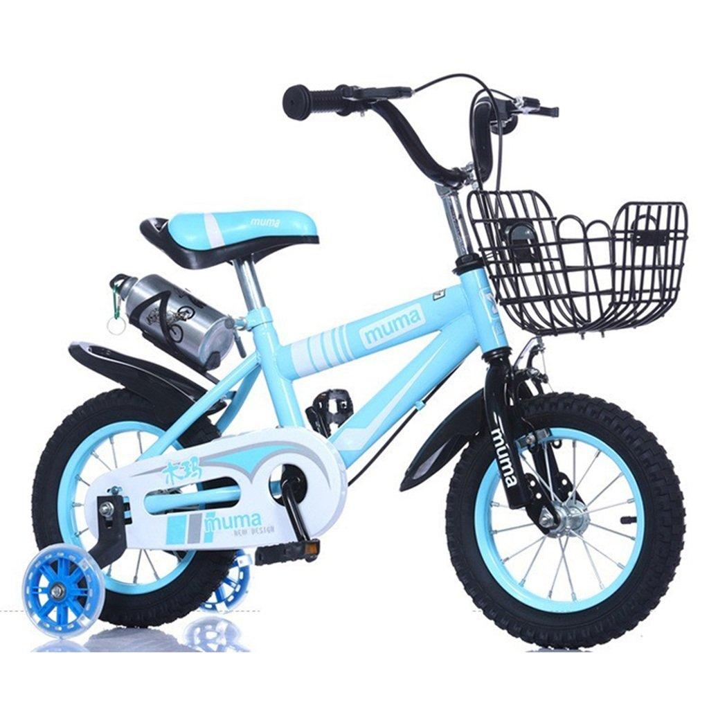 子供の自転車、男の子の自転車の女の子クリエイティブ自転車のマウンテンバイクは、ショックの安全自転車の足首の自転車の長さを減らす88-115CM (色 : 青, サイズ さいず : 115CM) B07D2FV5W1 115CM|青 青 115CM