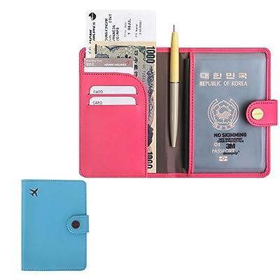 70%OFF RFID Blocking Passport Holder Wallet Cover Case Travel Wallet