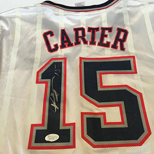 Vince Carter Signed Authentic Reebok New Jersey Nets Jersey JSA COA ... a7c898e3c