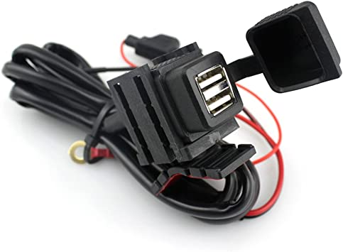 Impermeable Cargador de Motocicleta (Dual USB, Para Smartphone ...