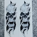 i5 Fork Skull Sticker Decals for Harley Davidson