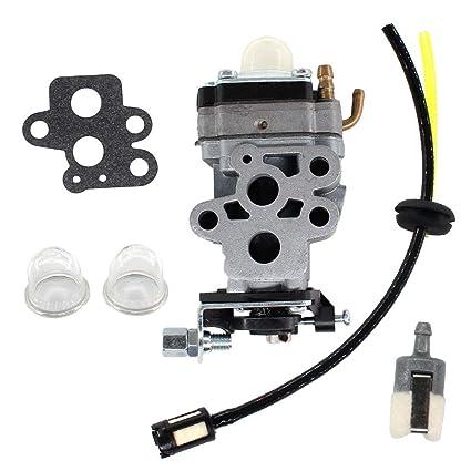 Amazon.com: USPEEDA Carburetor combustible línea kit para ...