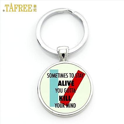 Amazon.com   s13 Twenty One Pilots Keychain Music Band Fans Men ... 8e6c7e4701