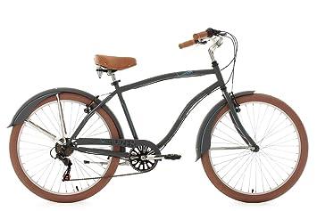 Ks Cycling Herren Fahrrad Beachcruiser Cruizer Anthrazit 26