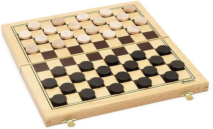 Jeujura - Damas, 2 Jugadores (J8131) [Importado]: Amazon.es: Juguetes y juegos