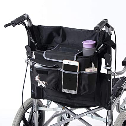 190cc75bc59b Fushida Storage Bag for Wheelchairs, Walker Lightweight Scooter ...