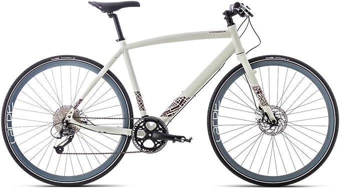 ORBEA Fitness Bike – , 28 Pulgadas, 9 velocidades Shimano Acera, Blanco de Gris de Color Rojo, » Carpe 20: Amazon.es: Deportes y aire libre