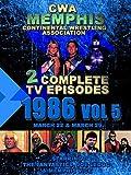 CWA Memphis Wrestling 2 Complete TV Episodes 1986 Vol 5