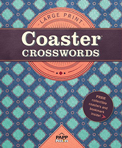 - Large Print-Coaster Crosswords 3: Persian Tile