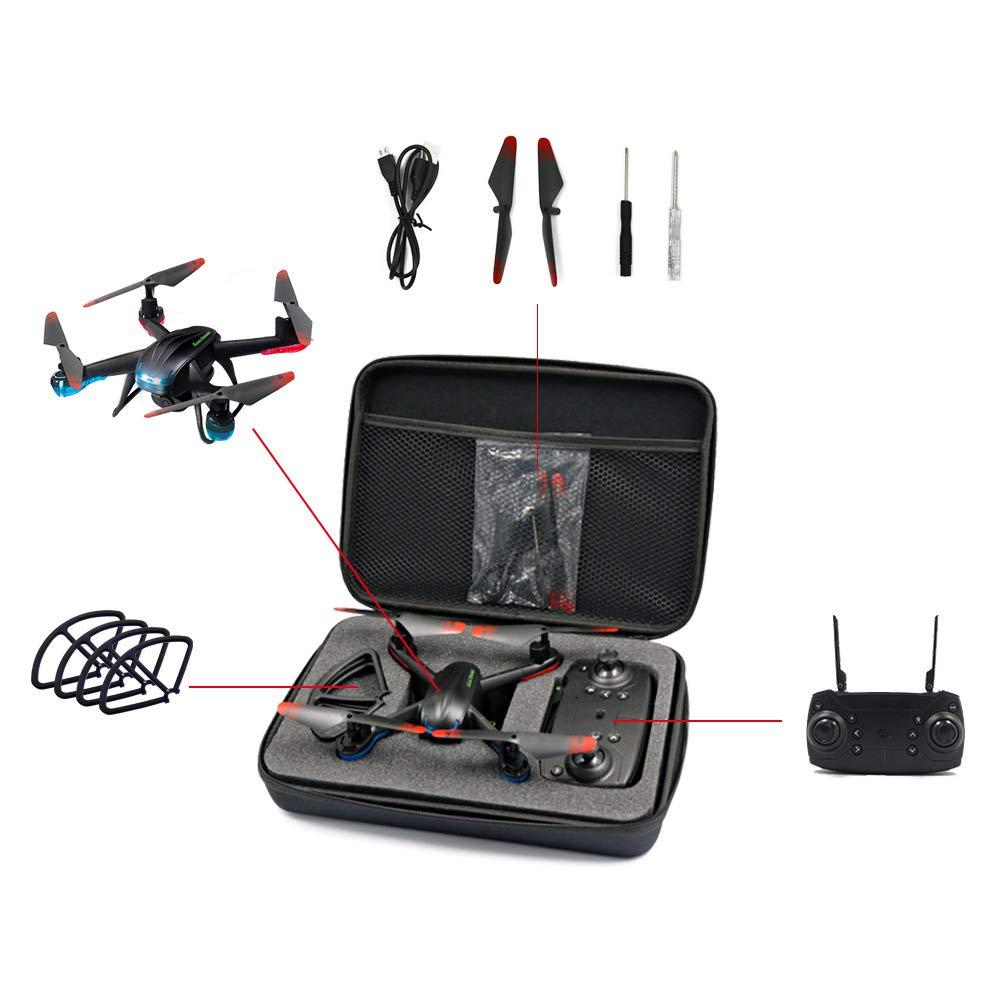 Lan Global Drone GW007 3 RC Quadrocopter FPV Drohnen mit Kamera HD High Hold Modus Einfach zu bedienen Mini Dron mit HD Kamera