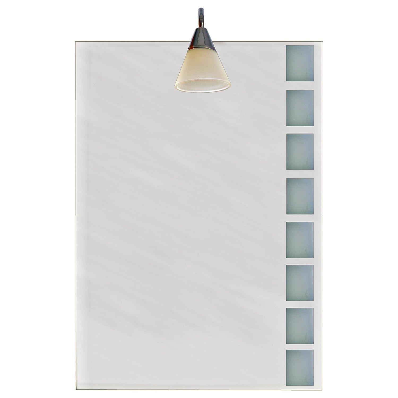 Spiegel Badspiegel Flurspiegel mit Beleuchtung ca 70 x 50