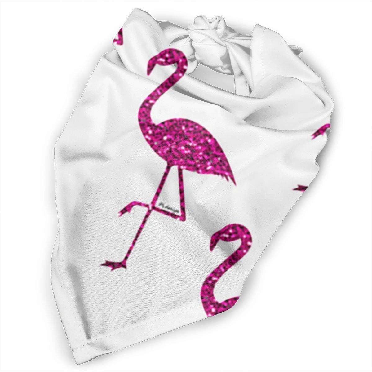 Pet Bandana Collar Bandana Preppy Pet Scarf Flamingo Pet Scarf Dog Scarf Girly Dog Bandana Pet Accessories