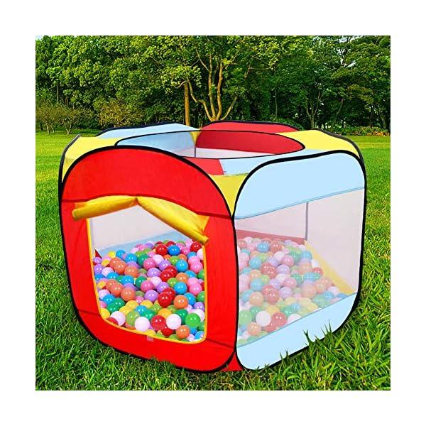 MAIKEHIGH Tenda da Gioco per Bambini, Tenda da Gioco per Bambini Tenda da Giardino Pieghevole da Piscina Bambini per… 2 spesavip