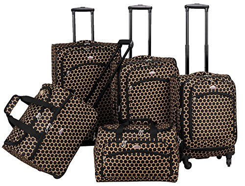 american-flyer-favo-5-piece-spinner-luggage-set-honey-gold-one-size