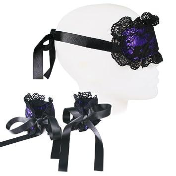 b1276f1b4 Amazon.com  Plush Sexy Mask   Cuffs for Intimate Adult Bedroom ...