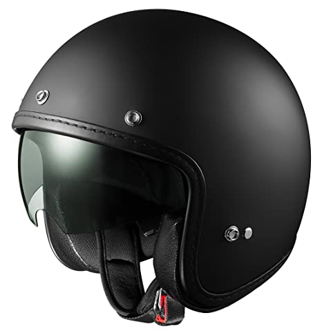 Amazon.com: Casco Sniper de 3/4 con protector retrá ...