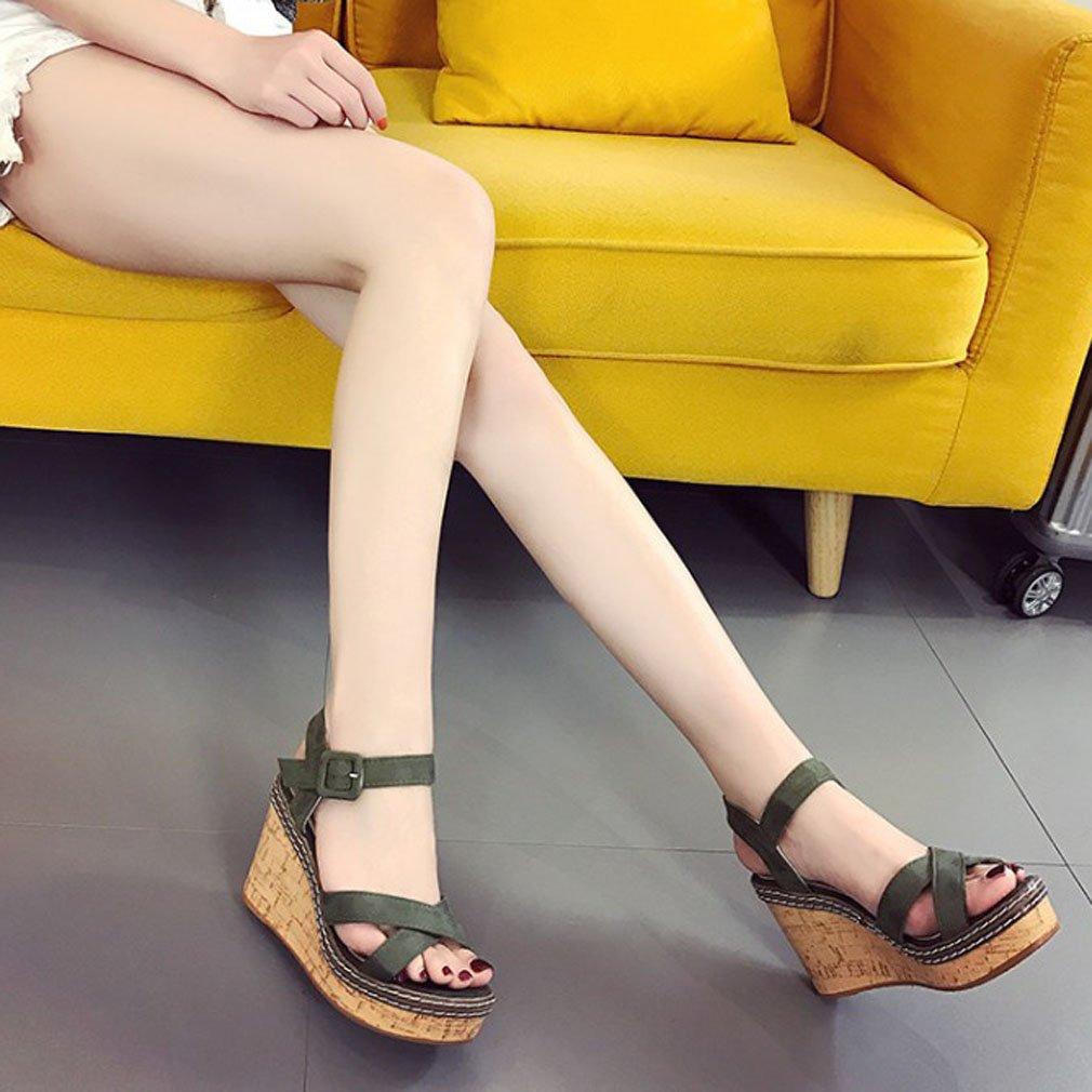 Des Chaussures Xianshu Simple Avec Talon Nouveau Compensé YCwqfX