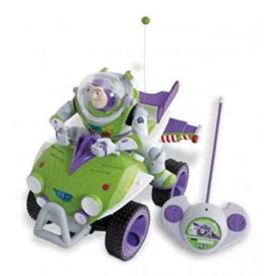 IMC Toys Toy Story - 140974 - Véhicule Miniature et Circuit Radio Commande - Quad RC Toy Story