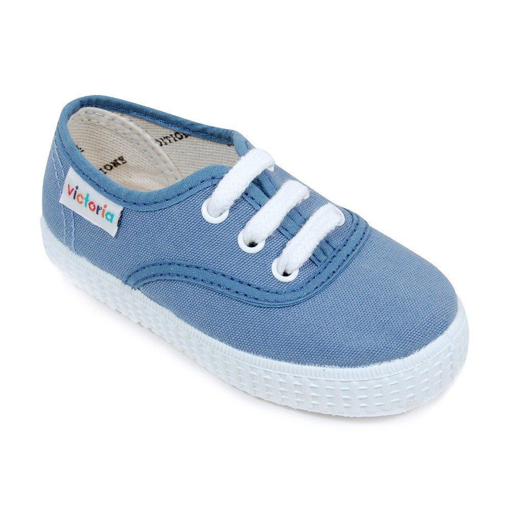 Victoria - Zapatos primeros pasos para niño azul azul 20: Amazon.es: Zapatos y complementos