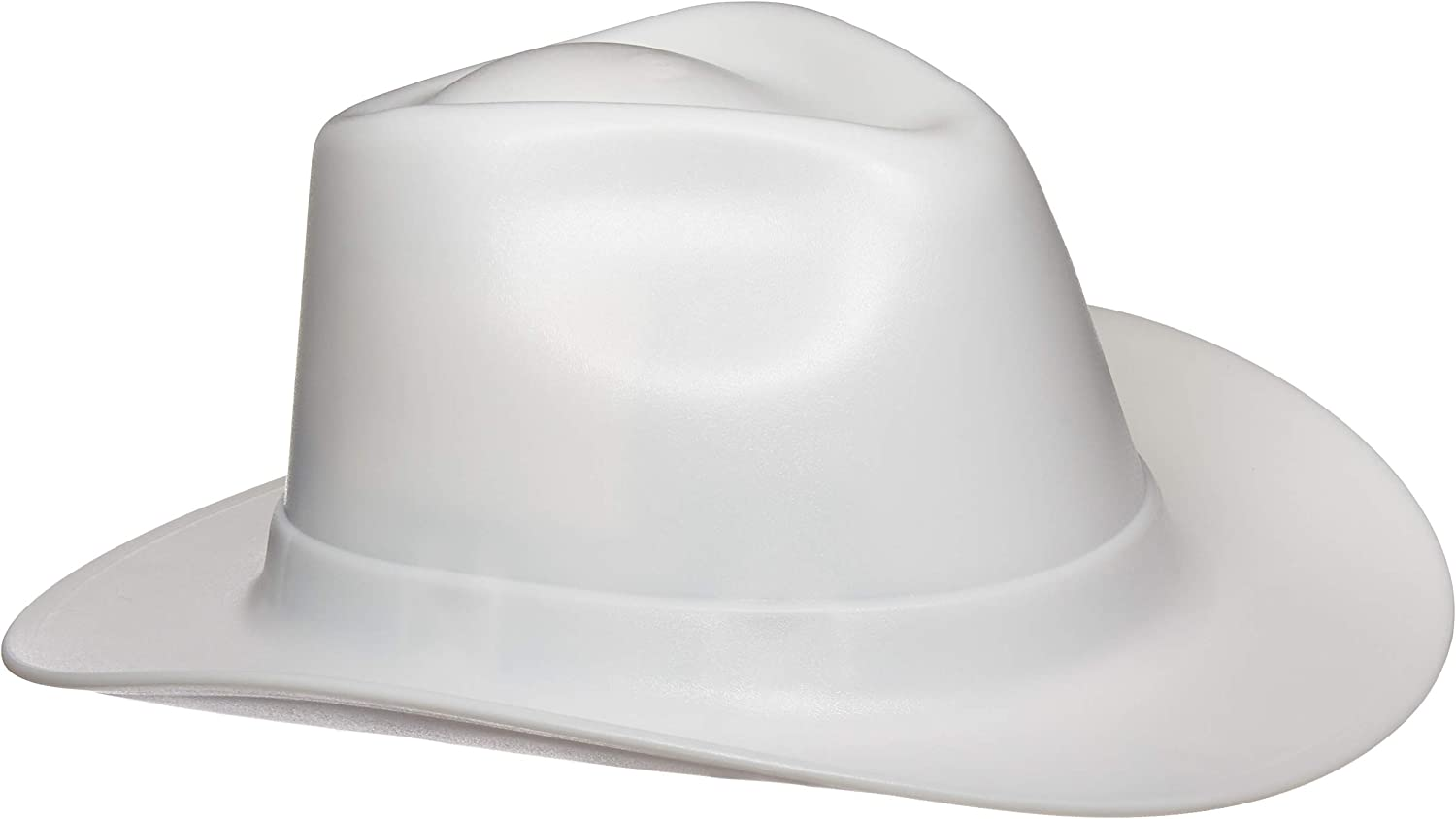 Occunomix VCB200-06 Vulcan Cowboy Style Hard Hat with Ratchet Suspension Black