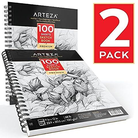 Arteza Sketch Book, 9X12