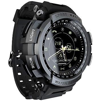 QIANRUNHE Deportes Reloj analógico Digital Smartwatch para ...