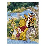 Buffalo Games Disney Photomosaic Winnie the Pooh and Friends 1026 Piece Jigsaw Puzzle