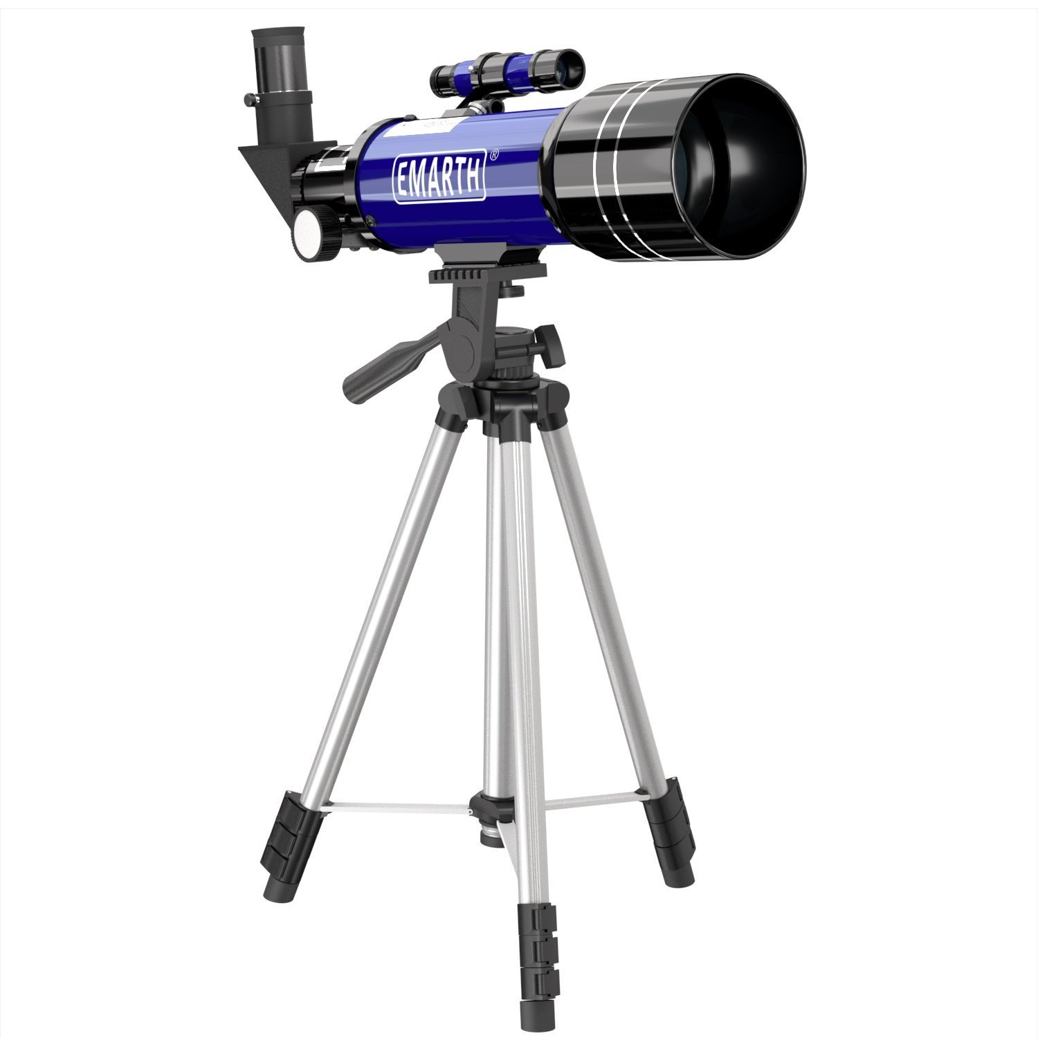 Emarth Telescopes for Astronomy Beginners Telescope for Kids Refracter Telescope with Tripod & Finder Scope
