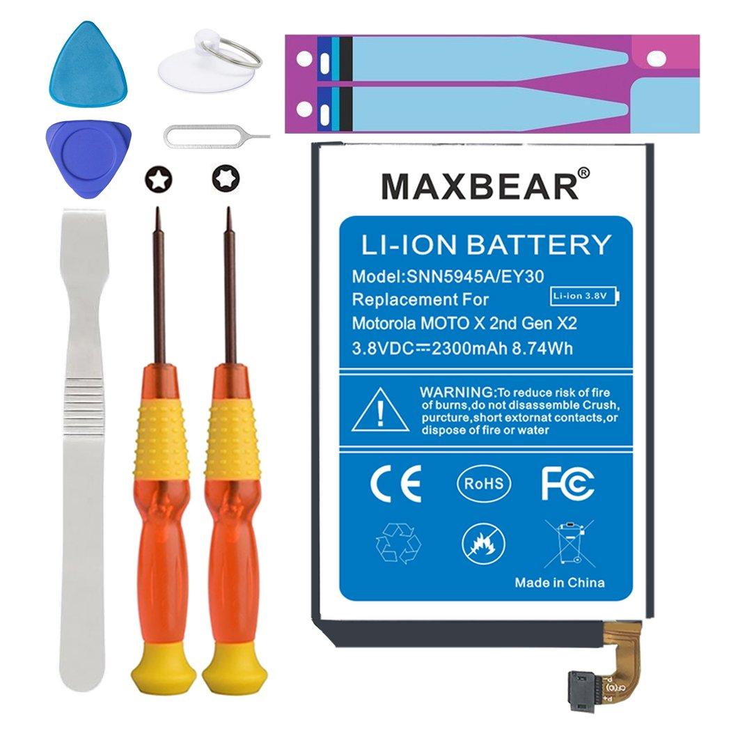 Amazon. Com: motorola google nexus 6 battery, maxbear 3225mah li.