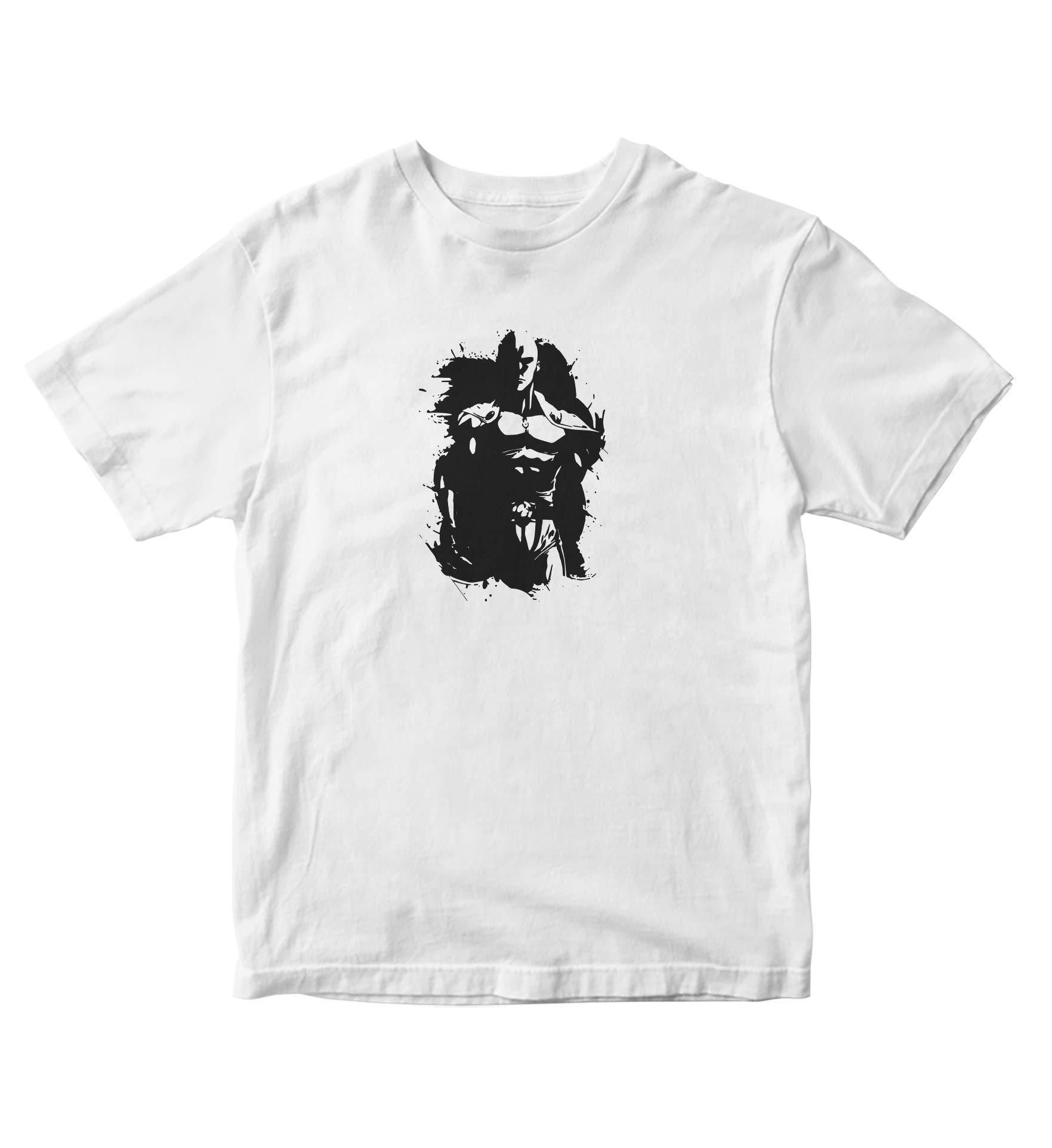 Saitama Shirt Silhouette One Punch Man Anime Manga Man S A838