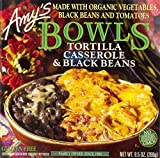 Amy's Bowls, Tortilla Casserole & Black Beans, 9.5 oz (Frozen)