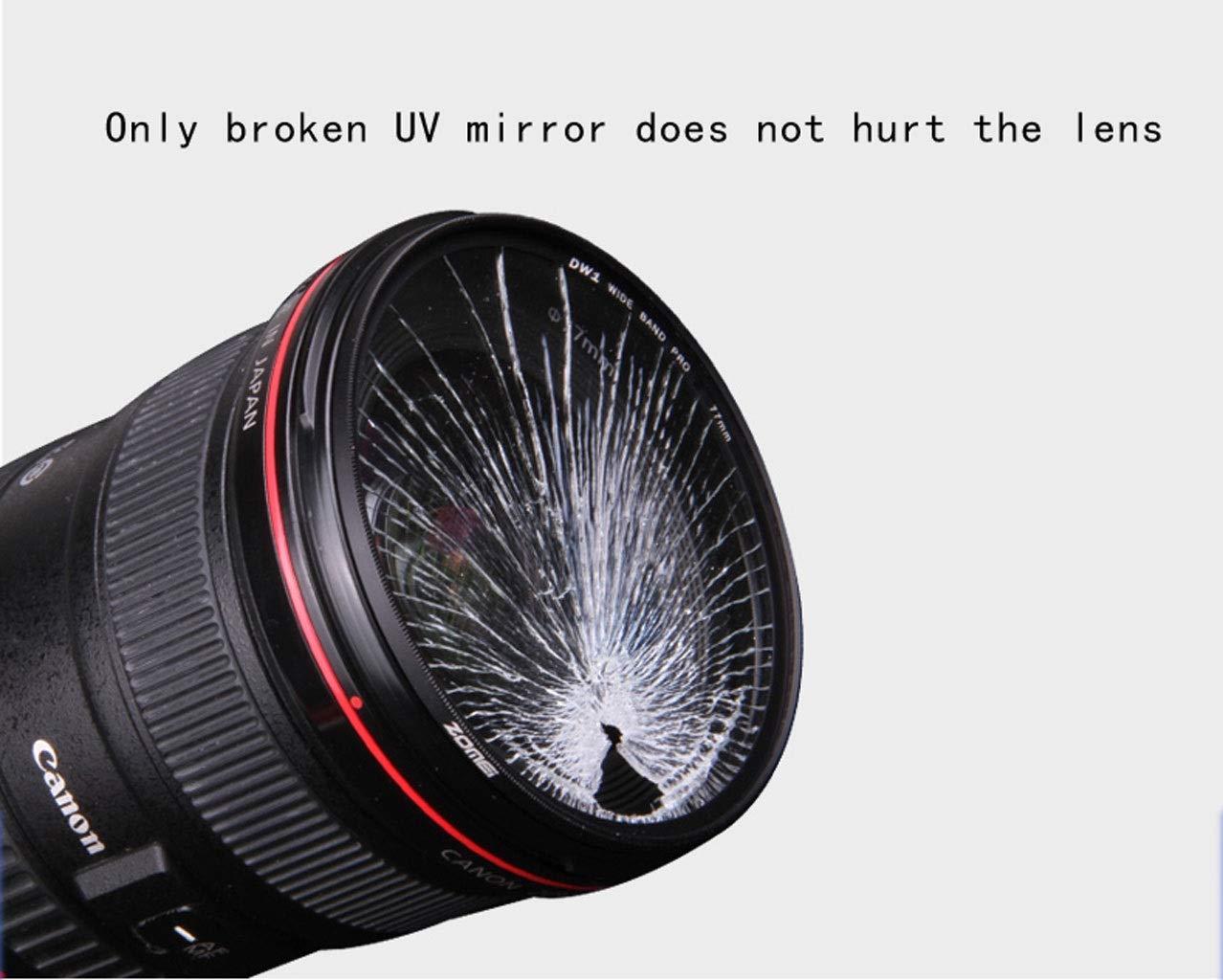 Wangclj Coated UV Lens Filter Protection for All Digital SLR Cameras Size : 77mm