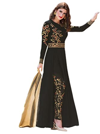 69b40d14b3f Shoppingover Indian Salwar Kameez Bollywood Designer Pakistani Anarkali Suit.   Amazon.co.uk  Clothing