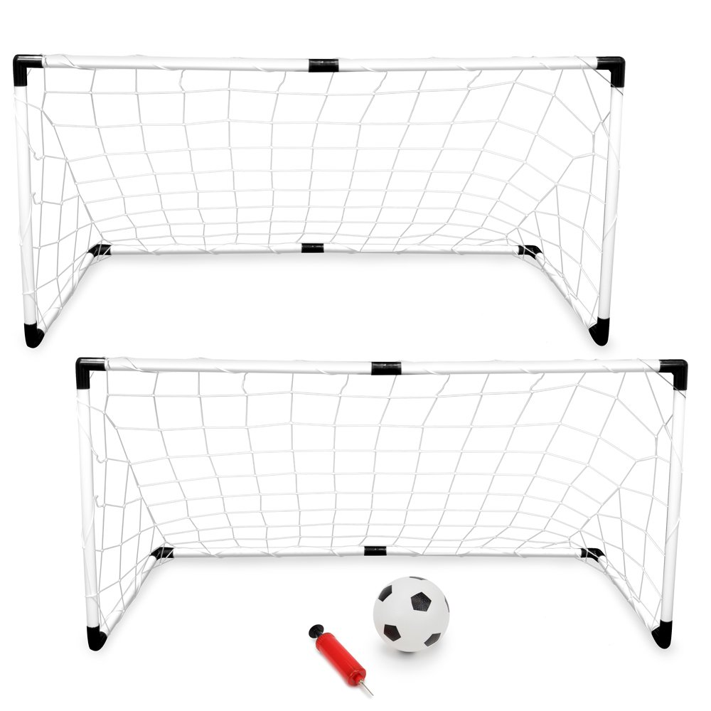 Youth Soccer Goals with Soccer Ball and Pump